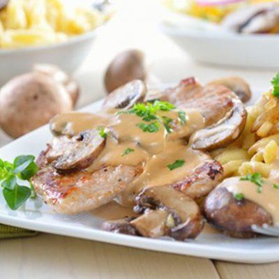 schnitzel-mit-champignons